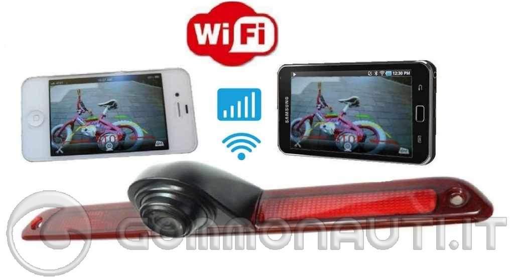 Retro Telecamera WiFi - Un valido e economico aiuto per agganciare il carrello da soli!