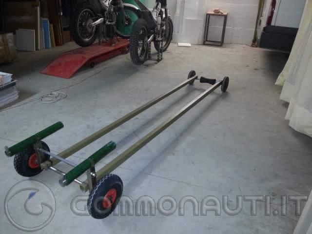 Costruzione carrello da alaggio for Carrello a due ruote leroy merlin