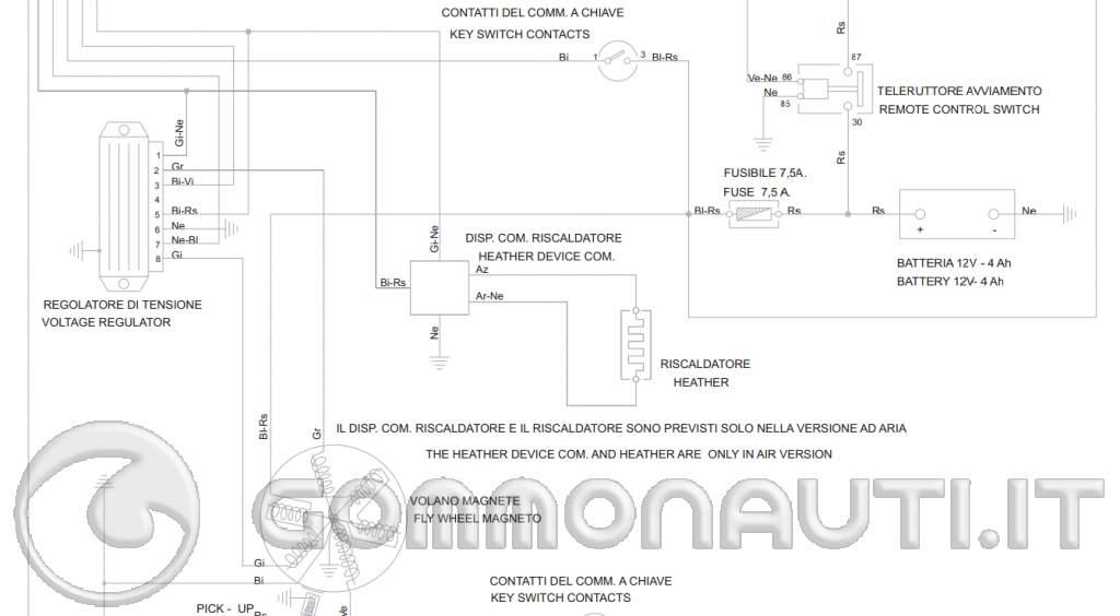Schema Elettrico Nrg Mc3 : Regolatore di tensione per evinrude posso usare