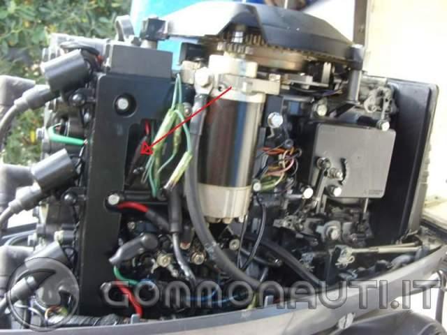 Schema Elettrico Yamaha Autolube : Yamaha top avviamento elettrico non va