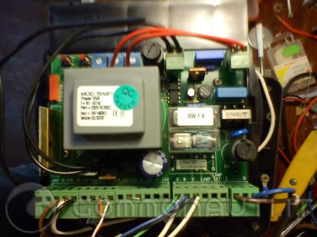 Schema Elettrico Per Cancello Scorrevole : Cerco schema funzionamento motore cancello elettrico