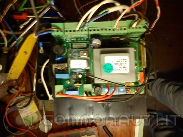 Schema Elettrico Cancello Automatico : Cerco schema funzionamento motore cancello elettrico