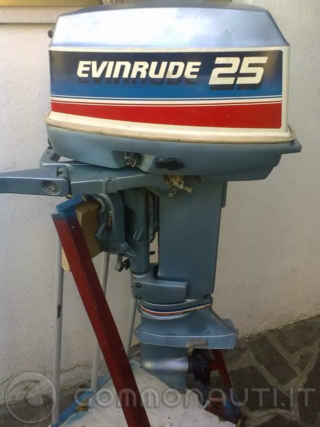 EVINRUDE 25CV 2 TEMPI 1982 VENDO