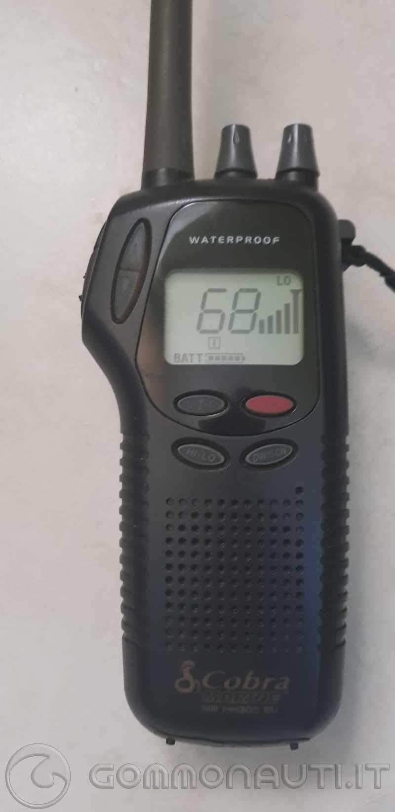 re: Vhf portatile Cobra Marine mr hh300eu