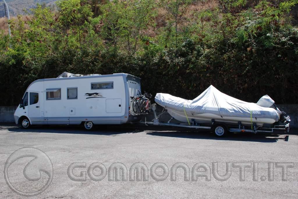 Camper+gommone: passione o follia