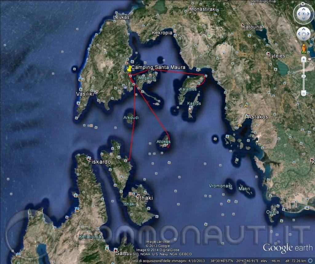 re: LEFKADA 2014 - Pianificazione di raids, con campeggio nautico, a spasso per le isole ioniche della Grecia