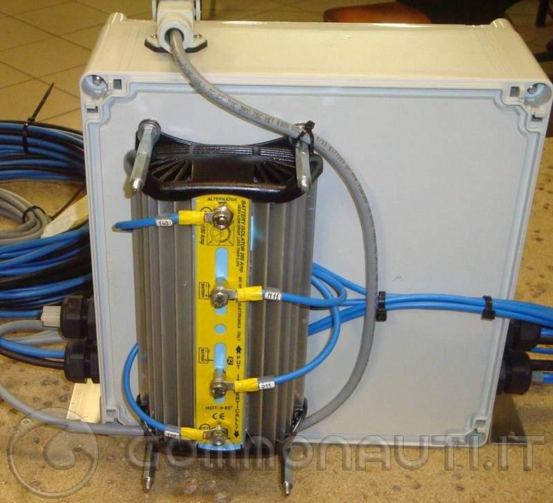 Schema Impianto Elettrico Barca Open : Impianto elettrico barca con doppia batteria protezioni