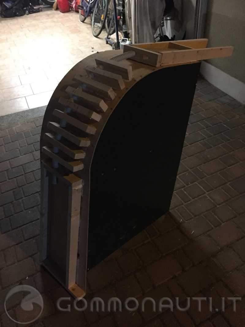 re: Costruzione Rollbar in vetroresina per nuova Jolly king 600