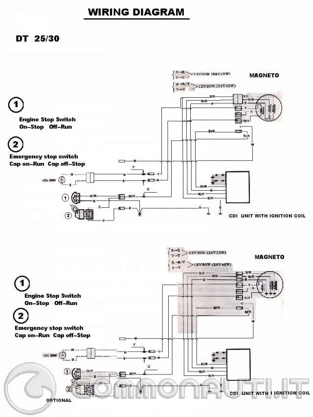 Schema Elettrico Yamaha Wr : Schema elettrico yamaha dt fare di una mosca