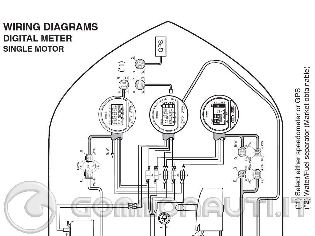 Schema Elettrico Yamaha Virago : Schema elettrico strumenti digitali yamaha