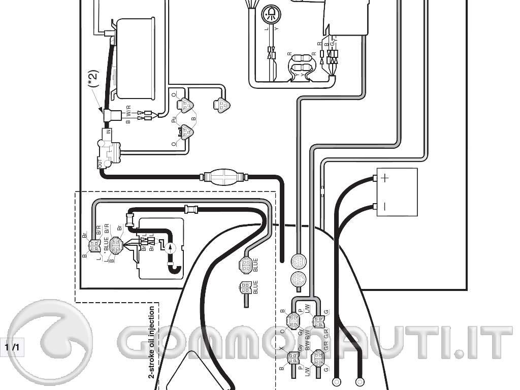 Schema Elettrico Yamaha Wr : Schema elettrico strumenti digitali yamaha pag