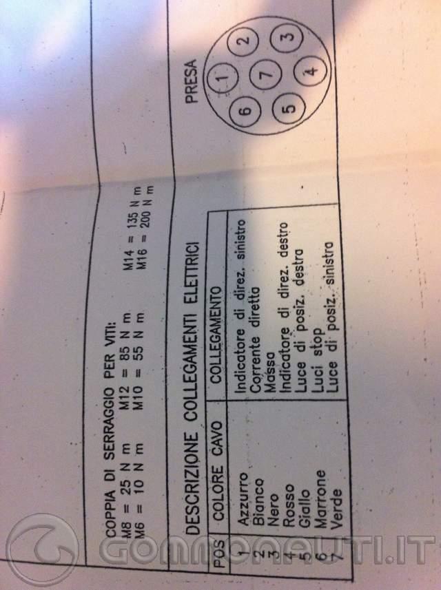 Schema Elettrico Per Carrello Appendice : Realizzazione impianto elettrico carrello