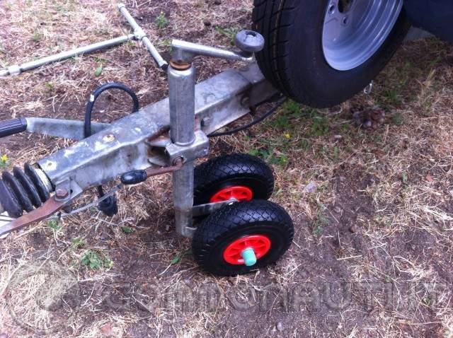 Modifica ruotino carrello for Idrociclone per sabbia usato