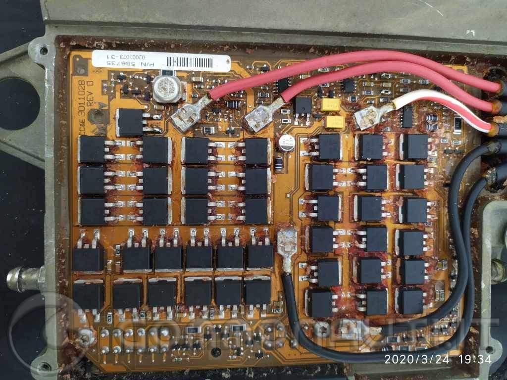 Centraline Evinrude Ficht Ram, come sono fatte e riparazione
