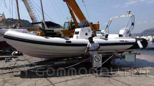 Vendo gommone Selva 750 Evolution Special con fuoribordo Selva 250 EFI (varo estate 2018)