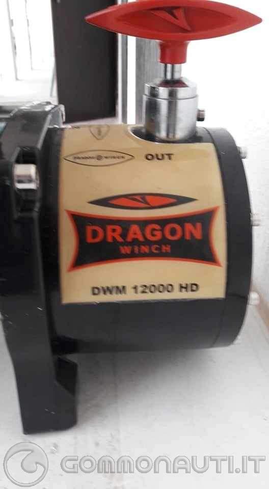 verricello elettrico 12 volt 12000 libbre vendo