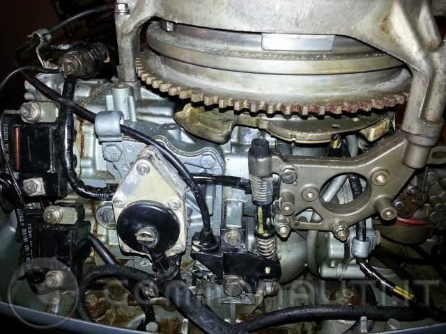 Evinrude 25hp 521cc veniamo a noi for 10 hp motor weight