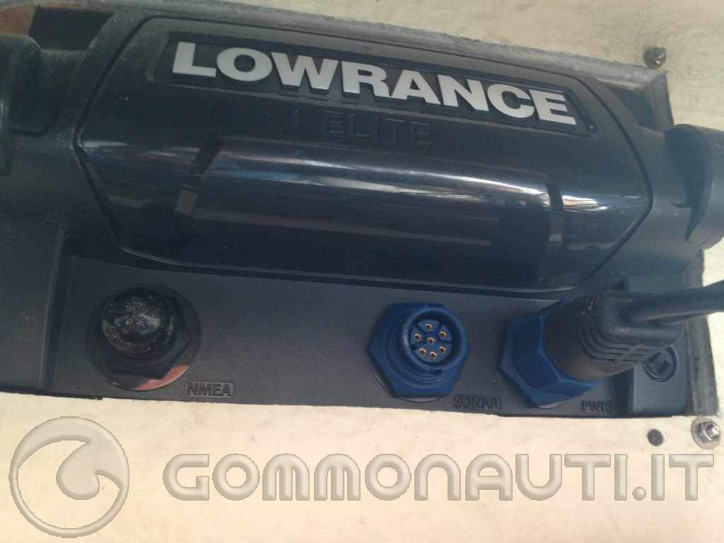 vendo eco/gps Lowrance elite-7 hdi trasd. 50/200 + sd navionics adriatico