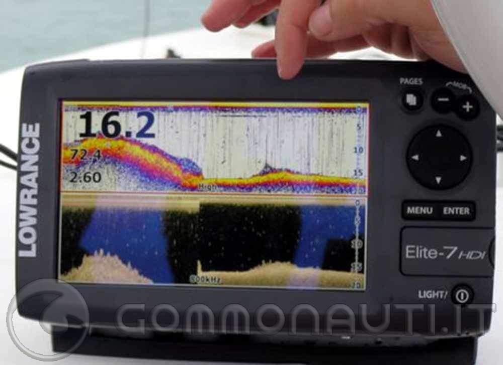 re: vendo eco/gps Lowrance elite-7 hdi trasd. 50/200 + sd navionics adriatico
