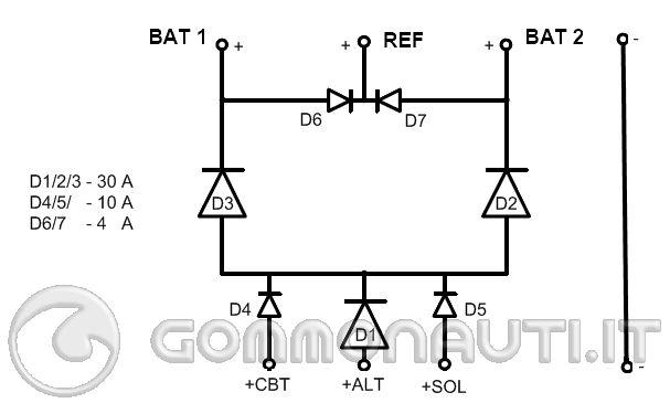 Schema Elettrico Caricabatteria Pannello Solare : Schema elettrico