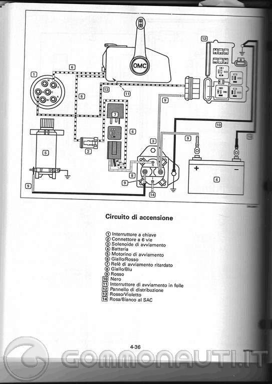 Schema Elettrico Johnson : Schema elettrico johnson cv