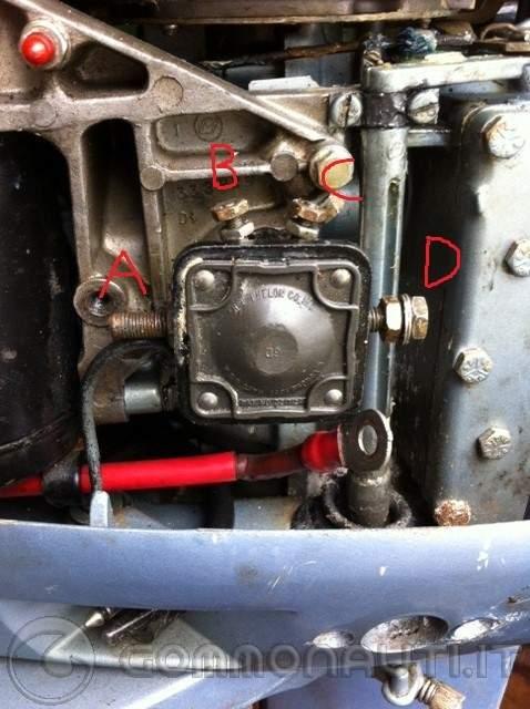 Schema Elettrico Evinrude 521 : Motorino accensione 521 evinrude