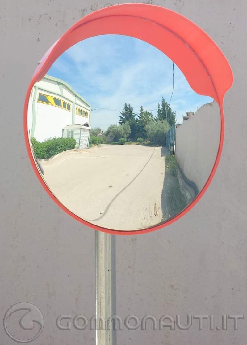Uno specchio per controllare il salpa ancora