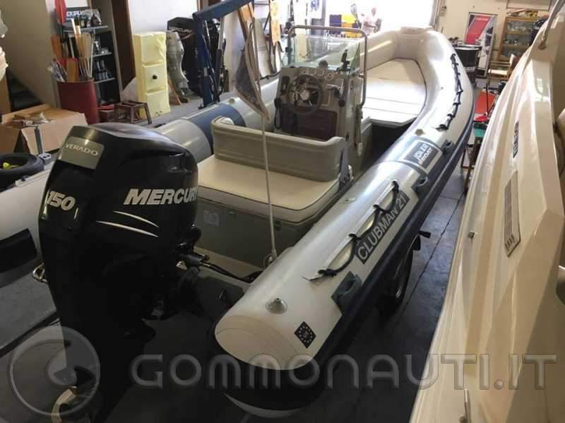 vendo Joker Boat Clubman 21 + Verado 150 cv. + carrello Satellite 1800 kg.