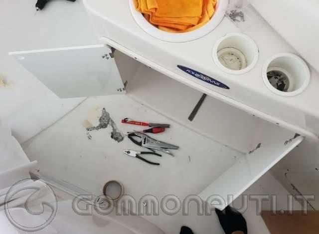 Mobile ghiacciaia Four Winns o barche americane in genere, come sfruttarla