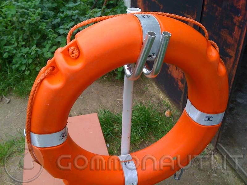 SUPPORTO per salvagente anulare portasalvagente e attacco boetta accessori barca