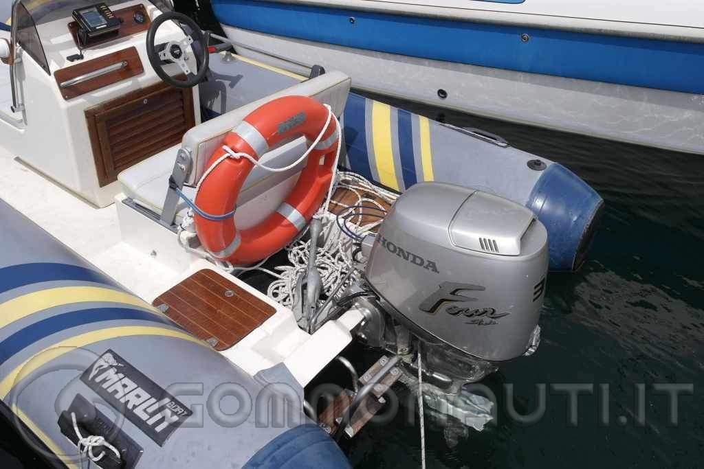 Marlin 440 + Honda BF30 + Rimorchio Cresci N6