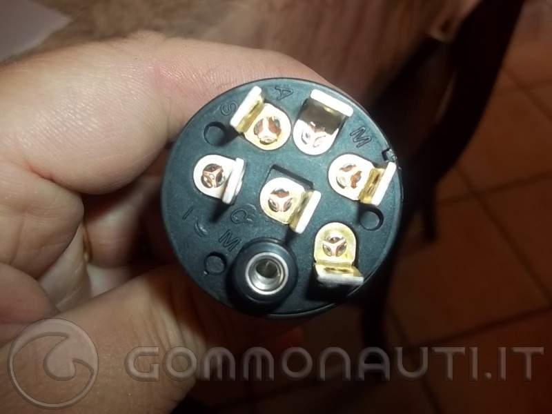 Schema Elettrico Blocchetto Avviamento : Collegamento cavi circuito accensione evinrude xp