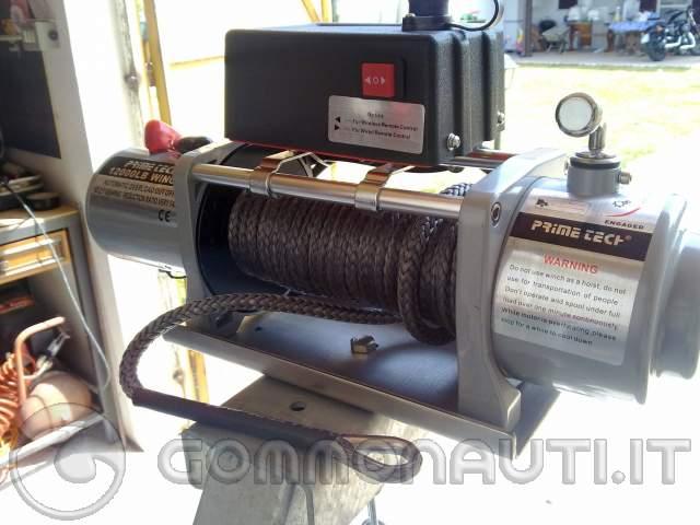 Schema Elettrico Per Verricello : Comprare un verricello elettrico per carrello pag