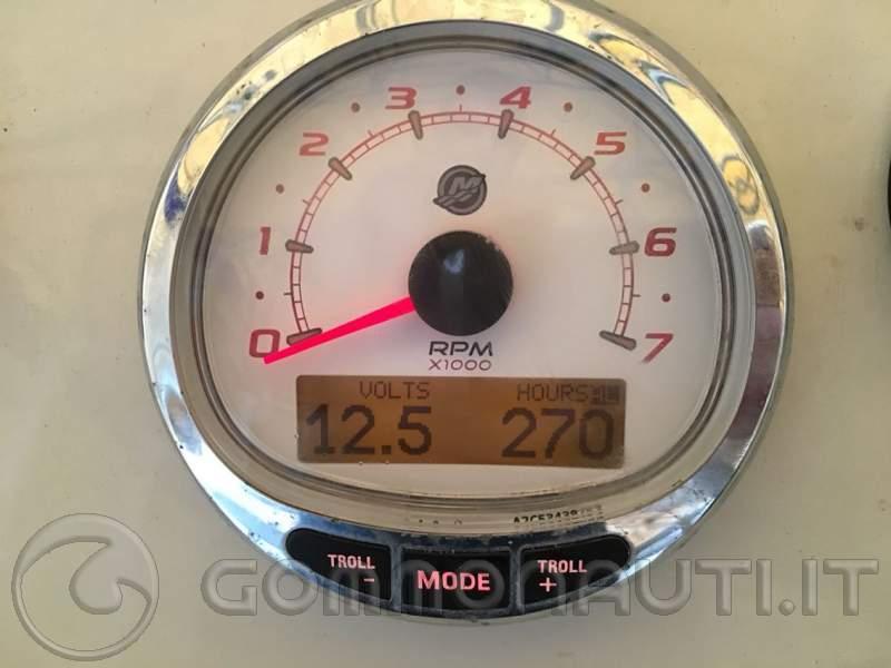 Motore Mercury 115 CV del 2015 270 ore