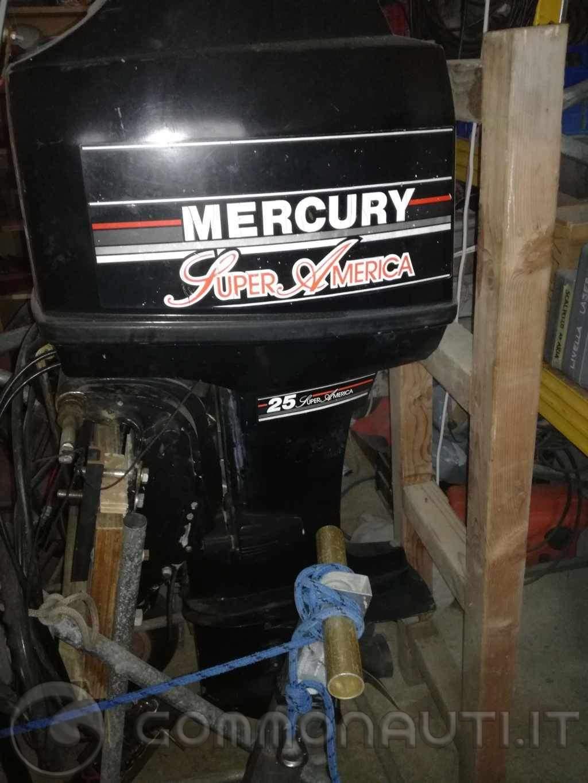 Vendo Mercury Super America 25/40cv gambo lungo volante