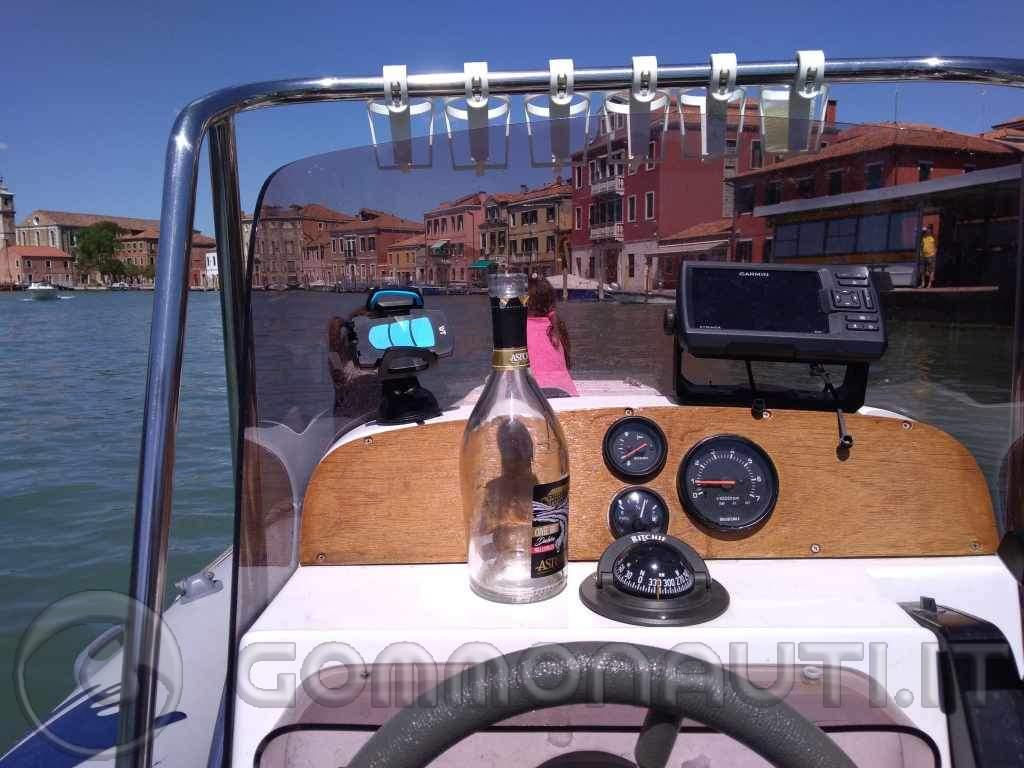 Vendo Gommone Nuova Jolly King 490, Motore Suzuki DF 115, carrello ellebi 1000kg