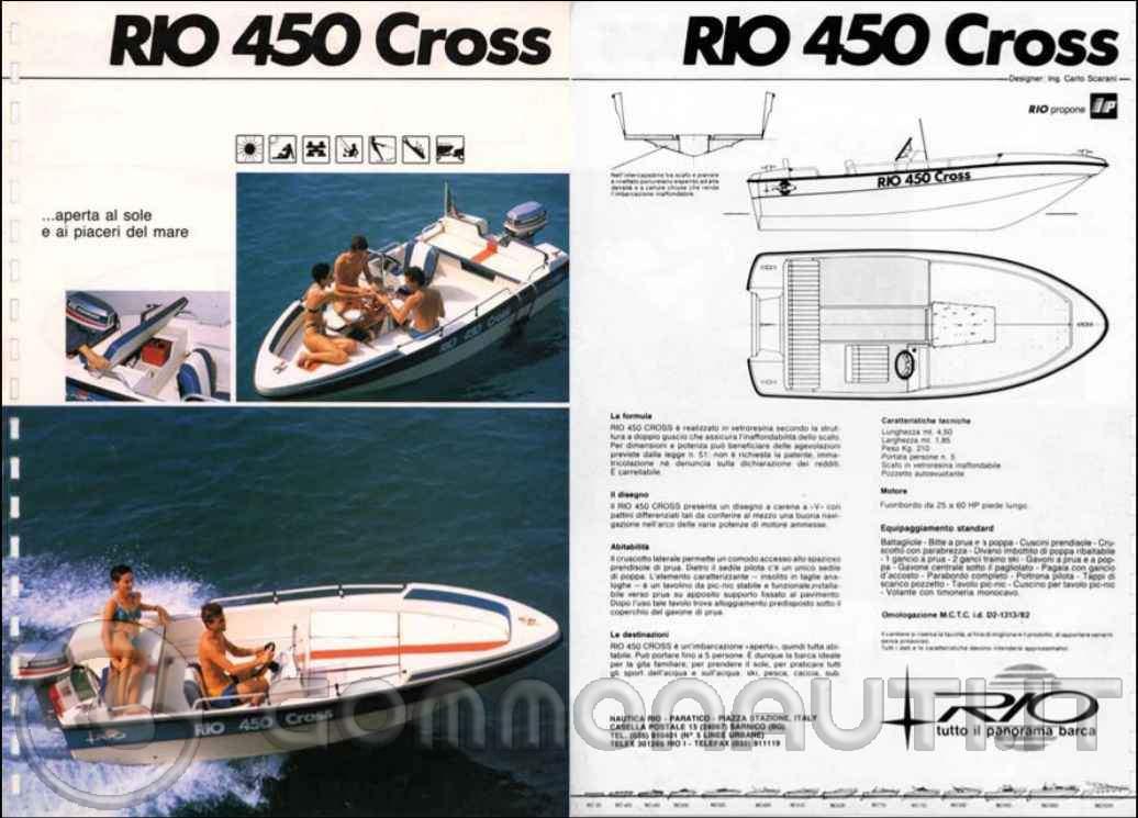 re: peso rio cross 450
