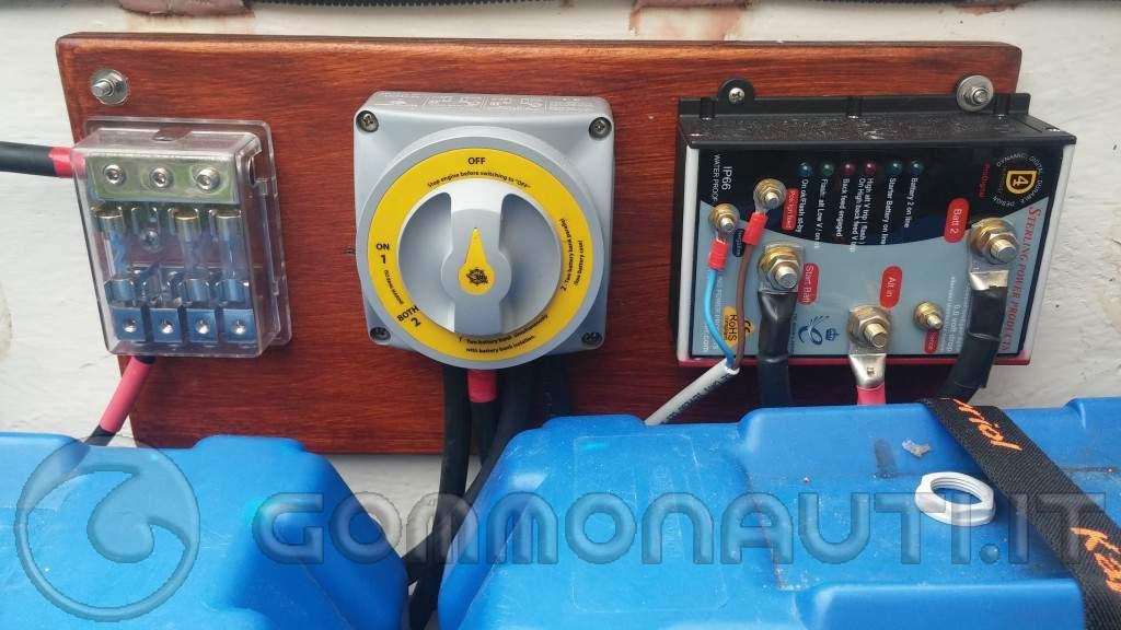 Schema Elettrico Per Gommone : Impianto elettrico gommone come dove quando