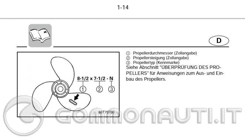 re: Problema salsedine su motore Yamaha Selva 25 cv 4 tempi