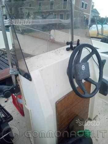 Vendo barca open Conero Vikign 470 motorizzata Suzuki super three 25/30