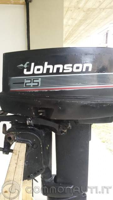 vendo johnson 521 25hp