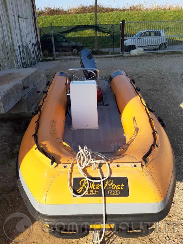Joker Boat 420 con Yamaha 25J più regalo carrello alaggio