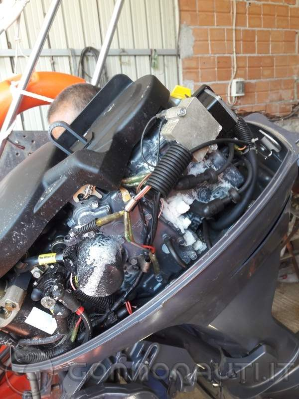 Problema salsedine su motore Yamaha Selva 25 cv 4 tempi