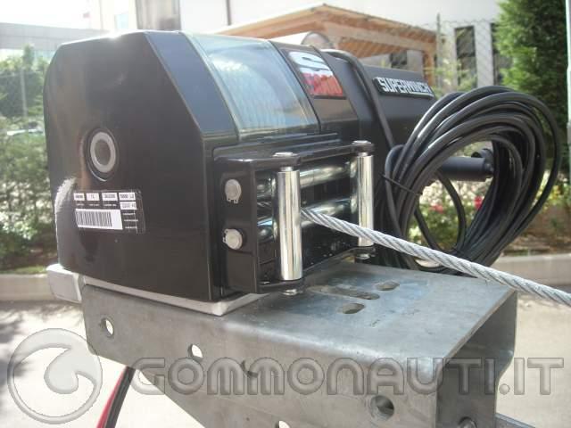 Schema Elettrico Per Verricello : Verricello elettrico amovibile