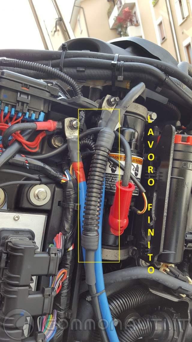 Schema Elettrico Ripartitore Di Carica : Come montare un ripartitore di carica su motore mercury