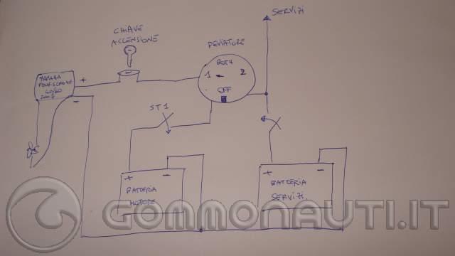 Schema Elettrico Per Gommone : Sostituzione vecchio impianto elettrico