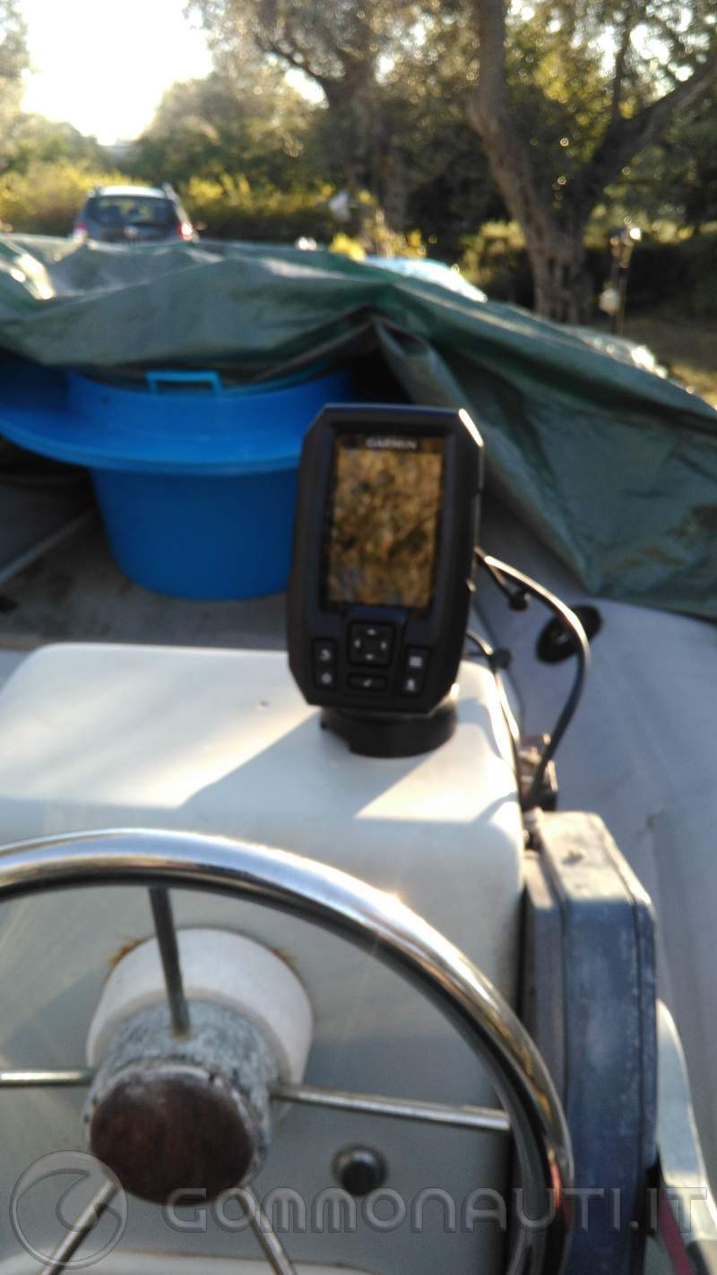 re: Fishfinder Garmin Striker 4DV - Navigare verso un waypoint