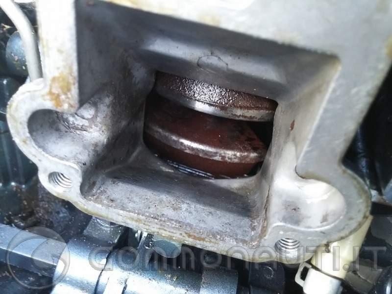 re: jamaha 25J  Ossido nel cilindro