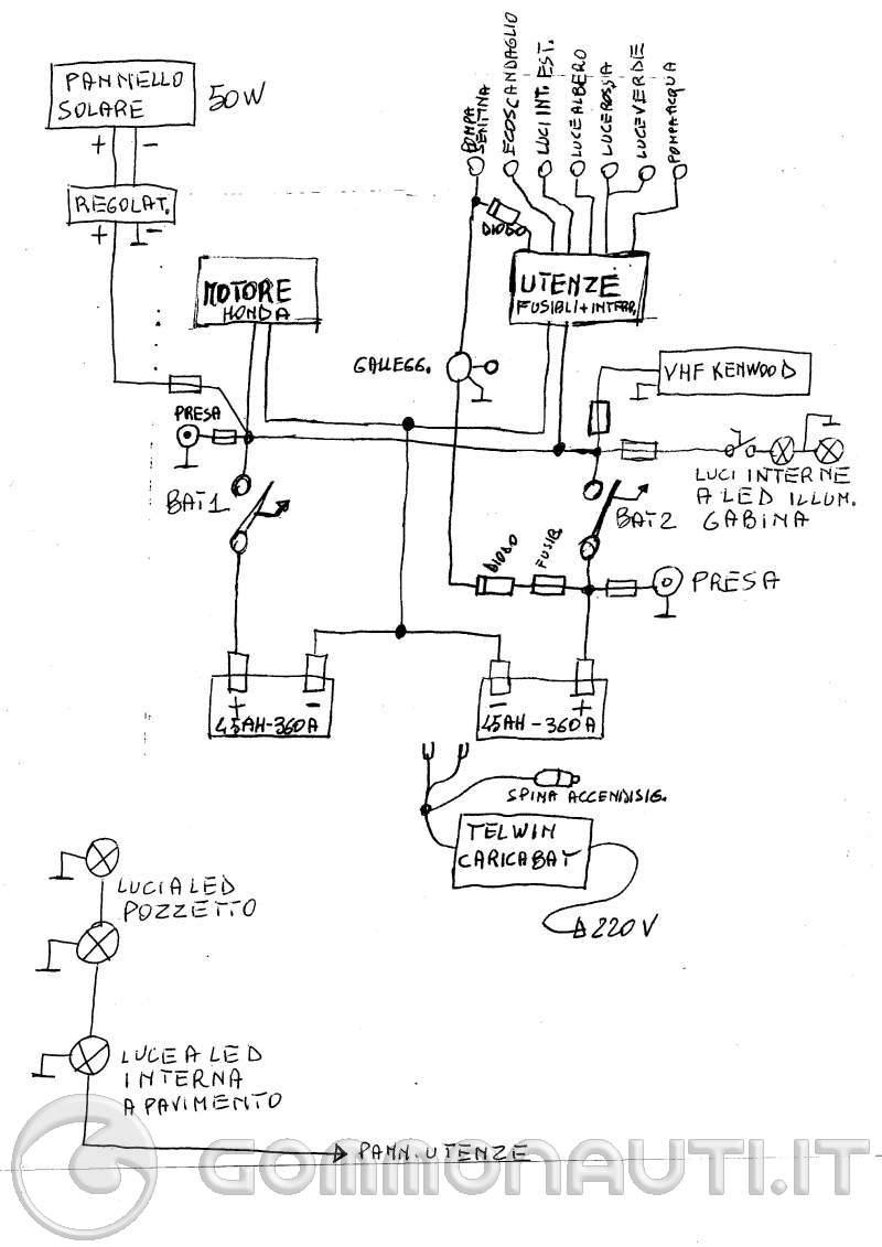 Schema Elettrico Per Water : Schema impianto elettrico pilotina