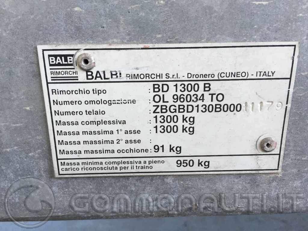 Vendo carrello Balbi basculante portata 950kg
